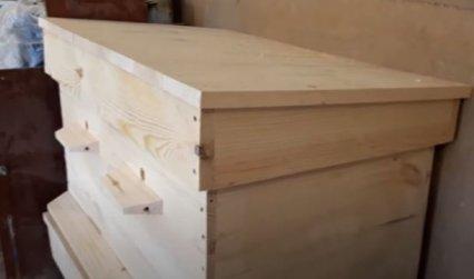 Как изготовить улей лежак своими руками (подетально)